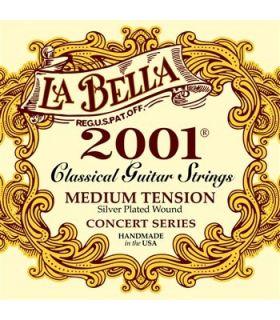 سيم گيتار کلاسيک لا بلا مدل 2001 Medium Tension