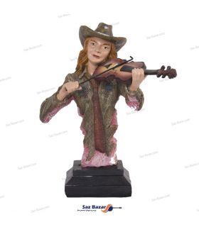 مجسمه نوازنده ویولن