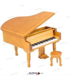 پیانو دکوری موزیکال چوبی