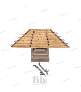 سنتور دکوری چوبی مدل S1
