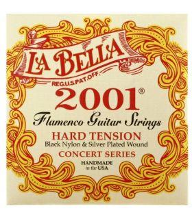 سیم گیتار فلامنکو لا بلا مدل 2001F Hard Tension