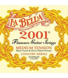 سیم گیتار فلامنکو لا بلا مدل 2001F Medium Tension
