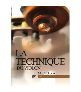 کتاب ل تکنیک برای ویولن اثر ماتیو کریک بوم