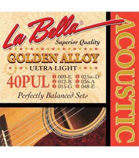 سیم گیتار آکوستیک لابلا مدل 40PUL